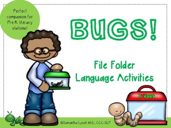 Bugs! File Folder Language Activities