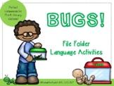 Bugs! File Folder Language Activities