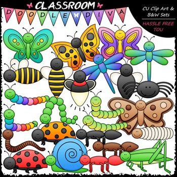 Bugs Galore & More Clip Art - Insects Clip Art - Bugs