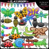 Bugs Galore & More - Clip Art & B&W Set