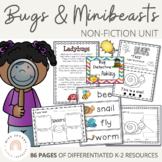 Bugs and Insects Spring Unit - perfect for distance learning