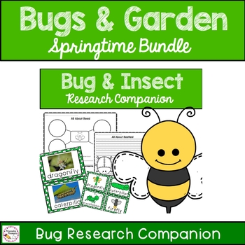 Bugs Insects and Gardens Bundle