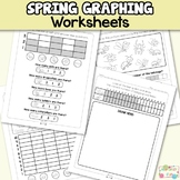 Bugs Graphing Worksheets to 3, 5, 10 and 20 - 1st Grade an