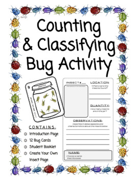 Bugs In Jugs - Fun Counting & Classification Activity