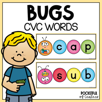 Bugs / Insects CVC Words