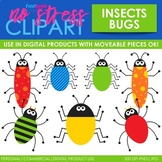 Bugs Insects Clip Art (Digital Use Ok!)