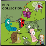 Bugs / Insects Clipart Collection