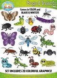 Bugs & Insects Clipart {Zip-A-Dee-Doo-Dah Designs}