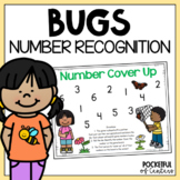 Bugs / Insects Cover Up - Number Recognition Game