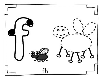 Bugs - Insects ENGLISH playdoh mats