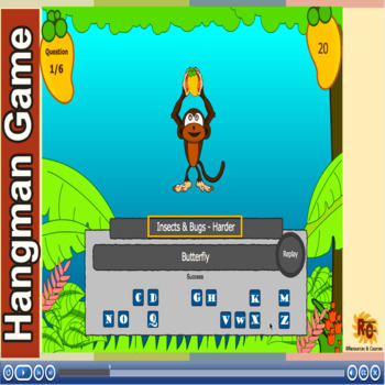 Bugs & Insects - Hangman Games PK-G4
