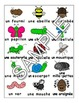 Bugs Insects / Les insectes FRENCH Workbook & Games Package