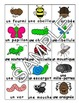 Bugs, Insects / Les insects FRENCH Worksheets and Games Pack