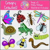Bugs Insects Minibeasts Clip Art CU OK