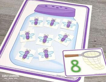Bugs & Insects Number Activities | Bug Math 1-20 Number and Counting Activities