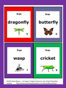 Bugs Science Unit