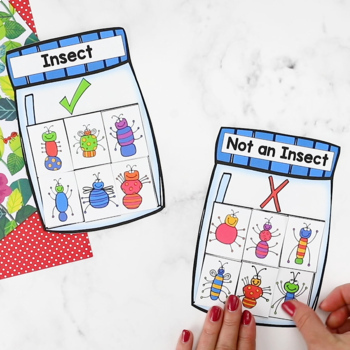 Bugs Insects Printable Math & Literacy Activities Pre-K, Preschool, Kindergarten