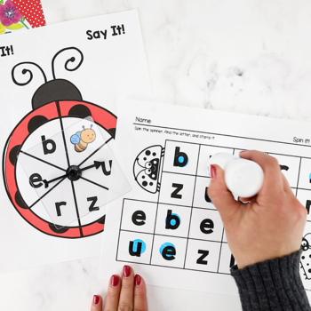 Bugs Insects Printable Math & Literacy Activities Pre-K, Preschool, Kindergarten