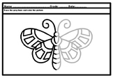 88 Bugs, Insects, Spring, Symmetry Art Project, Elementary Art Activity