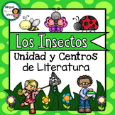 Bugs & Insects Unit in ***SPANISH***