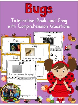 Summer Activities: Bugs Interactive Book and Song