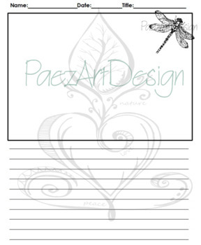 Bugs! Journal Pages by PaezArtDesign