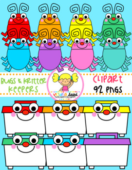 Bugs & Kritter Keepers Clipart