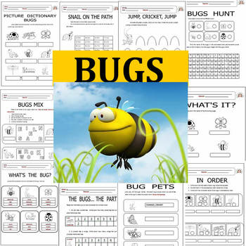 Bugs - Language Arts and Math