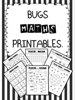 Bugs Maths Printables