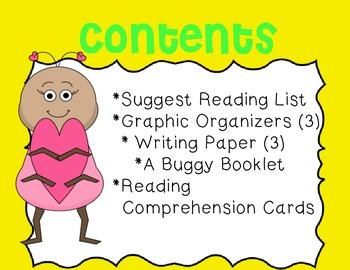 Bugs Mini Unit~ Includes Graphic Organizers & Much More!