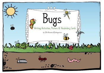 Bugs Mini Unit - Writing and Math Activities Pre-K and Kindergarten