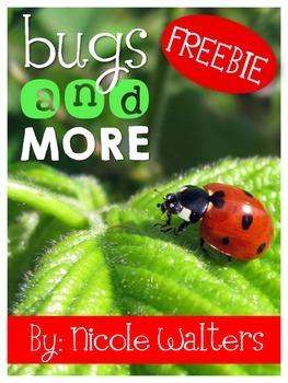 Bugs & More {FREEBIE}