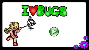 Bugs No Prep Lesson - PowerPoint Interactives Included
