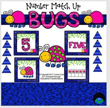 Bugs Number Match Up