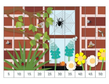 Bugs Number Puzzles