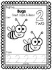 Bugs Numbers 1-10: Count, Color, & Trace