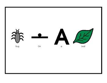Bugs On a Leaf- Original Book