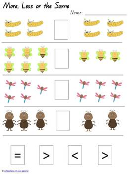 Bugs Pack Grades 1, 2, 3