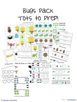 Bugs Pack for Tots to Prep