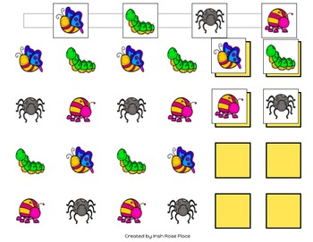 Bugs Pattern Mats