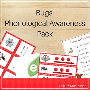 Bugs Phonological Awareness Pack