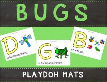 Bugs Playdoh Mats