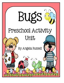 Preschool Activity Unit ~ Bugs