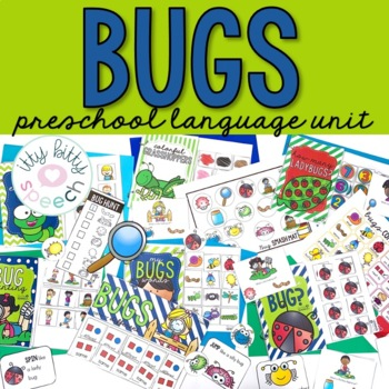 Bugs Preschool Language Unit