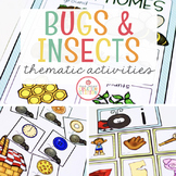 BUGS THEME ACTIVITIES FOR PRESCHOOL, PRE-K AND KINDERGARTEN
