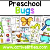 Bugs Preschool Task Box Printable