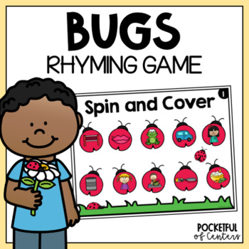 Bugs Rhyme & Cover Game