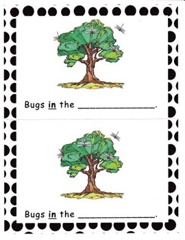 Bugs! Rhyming Emergent Reader