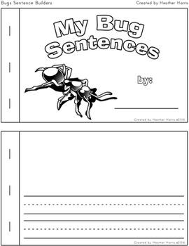 Bugs Sentence Builders
