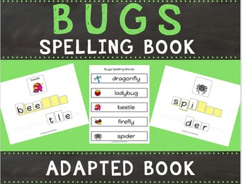 Bugs Spelling Books (Adapted Book)